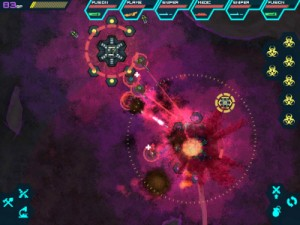 Screenshot da Infested Planet