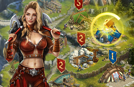 Vikings: War of Clans, il gioco di strategia del momento