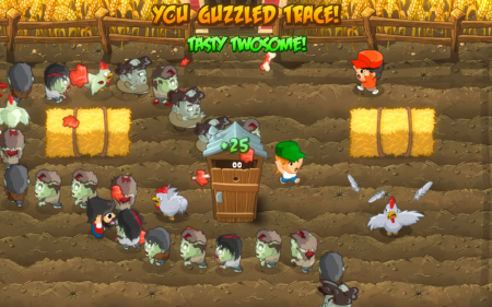 Brain Guzzler: un'invasione di zombie per Windows e iOS (gioco gratis)