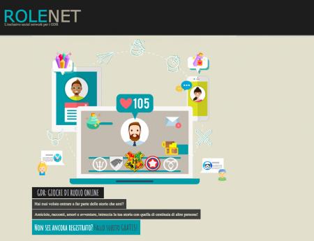 Rolenet GDR: un esclusivo social network per chi ama i giochi di ruolo