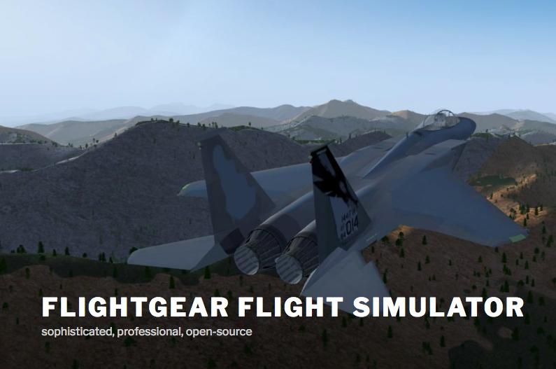 FlightGear: simulatore di volo multipiattaforma e open source