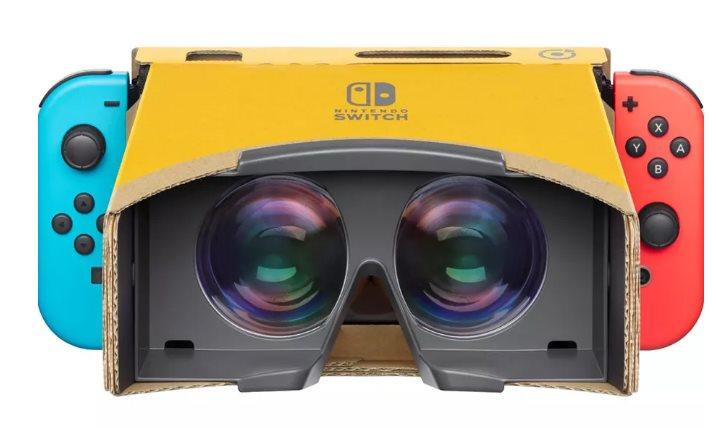 Con il kit VR di Nintendo Labo arriva la realtà virtuale su Nintendo Switch