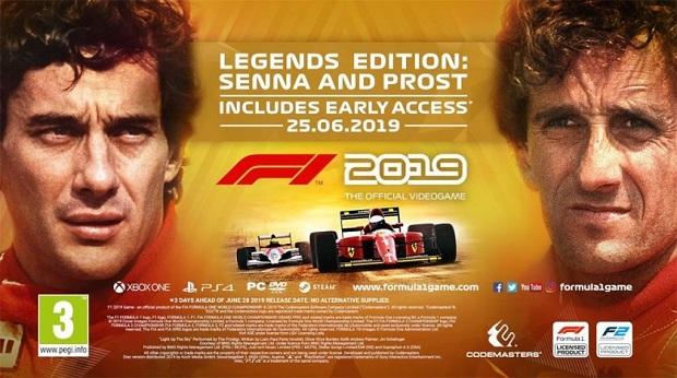 F1 2019 Legends Edition offre i duelli tra Alain Prost e Ayrton Senna