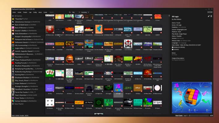 Flashpoint: migliaia di giochi flash da scaricare e giocare offline