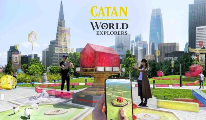 Niantic presenta 'Catan: World Explorers', gioco AR per mobile