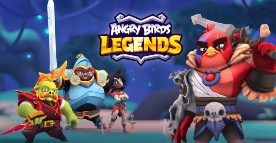 Angry Birds Legends: un RPG con carte