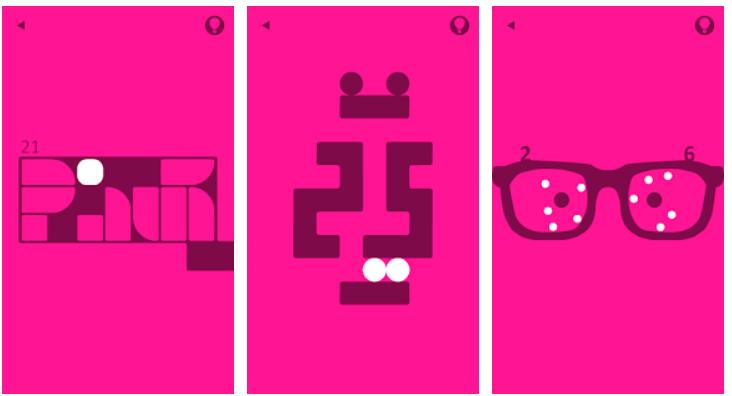 Pink: rompicapo per Android basato sui colori