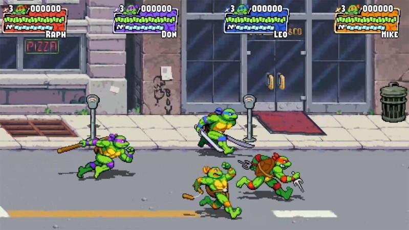 Teenage Mutant Ninja Turtles: Shredder's Revenge – picchiaduro a scorrimento in stile rétro