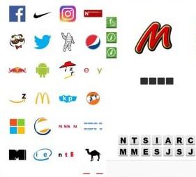 Logo Quiz, divertente giochino gratis per identificare i marchi delle aziende